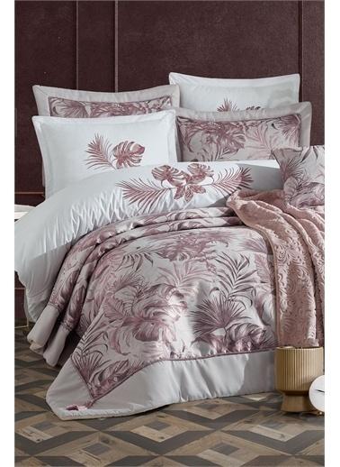 İyi Geceler İstanbul Luxury Çeyiz Seti - Palm Rose Renkli